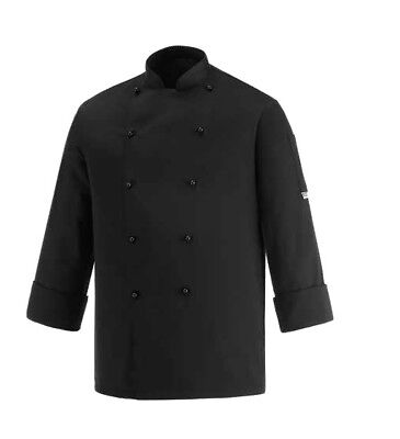 Clothing, Shoes & Accessories Tireless Chaqueta De Cocinero Egochef Seguridad Negro Manga Larga Made In Italy Man Other Men's Clothing