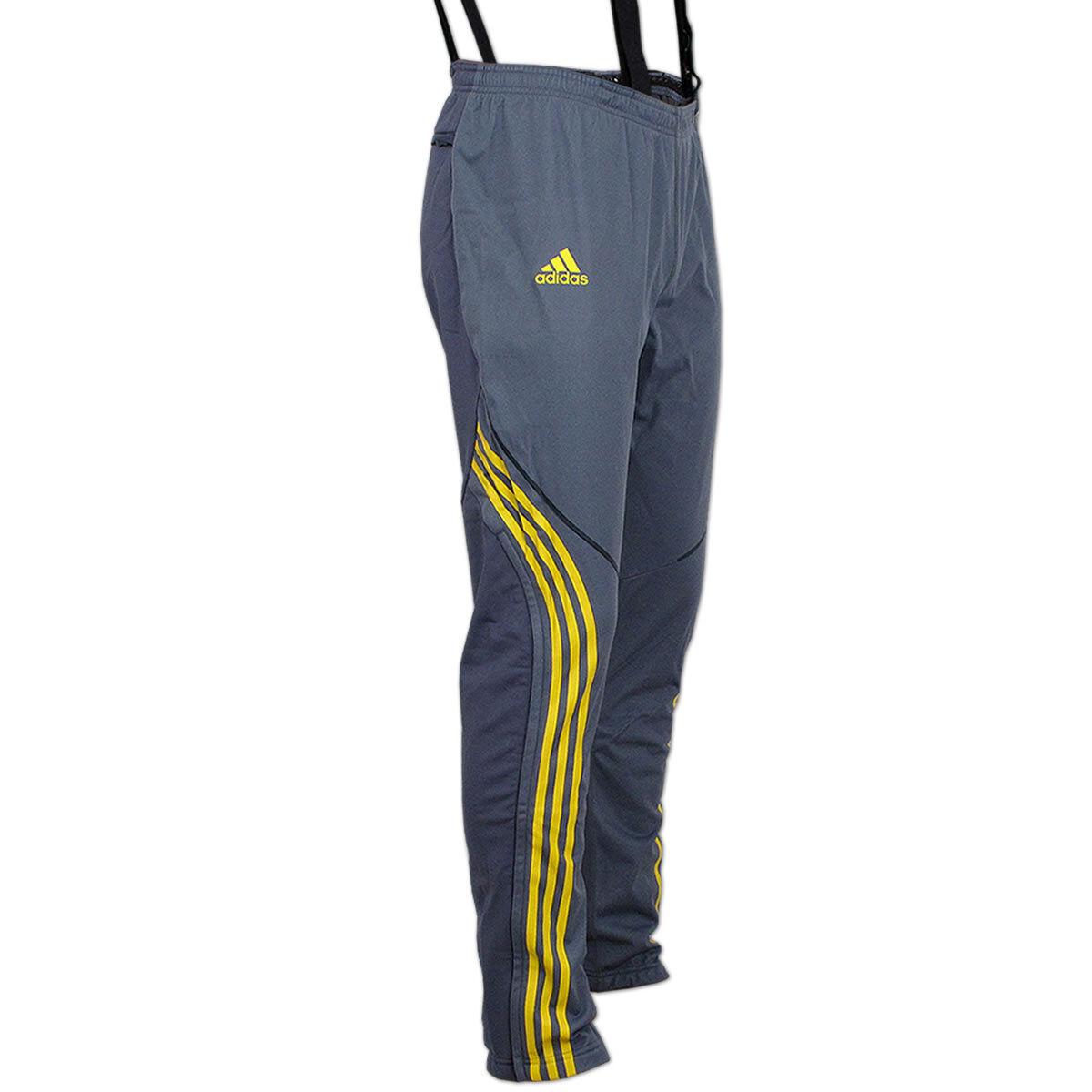 Adidas Herren Athleten Hose DSV Aufwärmhose Biathlon Langlauf Langlauf Langlauf Wintersport Ski c68172