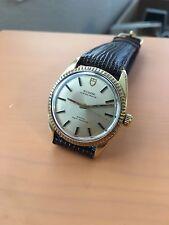Mens Vintage TUDOR Stainless Steel Gold 34mm Ref: 7987/5 c.1971 Dress Watch