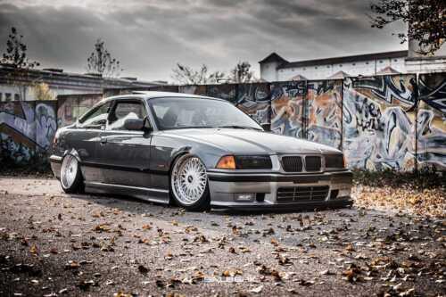 Noir Brillant rénale Front grill 3er BMW e36 Cabriolet Facelift m3 Salberk 3602