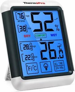 Digitales LCD Thermometer Hygrometer Messgerät Temperatur Luftfeuchtigkeit  HH