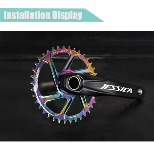 Bike GXP Crank 32-38T Offset 6mm Chainring Direct Mount Narrow Wide Chainring US