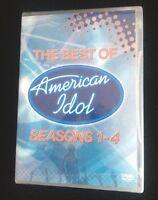 American Idol - The Best Of American Idol 1-4 (dvd, 2005) Sealed Gift
