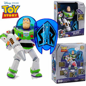Details about 4 MODE DISNEY TOY STORY BUZZ LIGHTYEAR TALKING ACTION FIGURES  KIDS PLAY SET DOLL