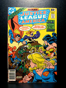 COMICS-DC-Justice-League-of-America-157-1978-Giant-Size-issue-RARE-flash