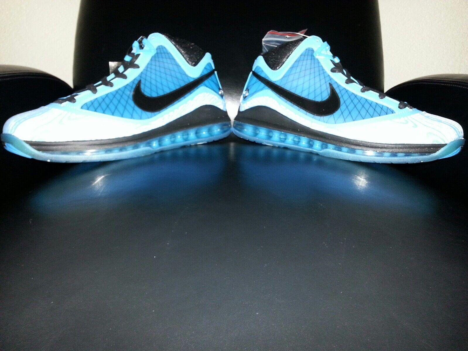 Nike Air Max Lebron 7 2010 All Star Chlorine bluee Black Copa Size 10.5 (New )