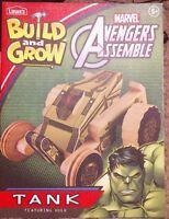 Lowe's Build And Grow Hulk Tank Avengers Kit Sealed