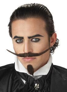 the dandy western cowboy adult costume moustache amp beard