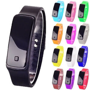 Child-Boy-Girl-LED-Sport-Electronic-Digital-Wristwatch-Watch-For-Kids-Gift-UK
