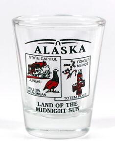 Alaska État Paysage Rouge Neuf Verre à Shot Shotglass dqWwh1Jm-09152716-284333727