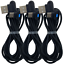 3Pack-3Ft-6Ft-90-Degree-Fast-USB-Type-C-Samsung-Charger-Charging-Cable-Cord-Lot miniature 11