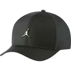 Nike-Jordan-Jumpman-Classic-99-Metal-Hat-Mens-Black-1Size-Sportswear-Cap