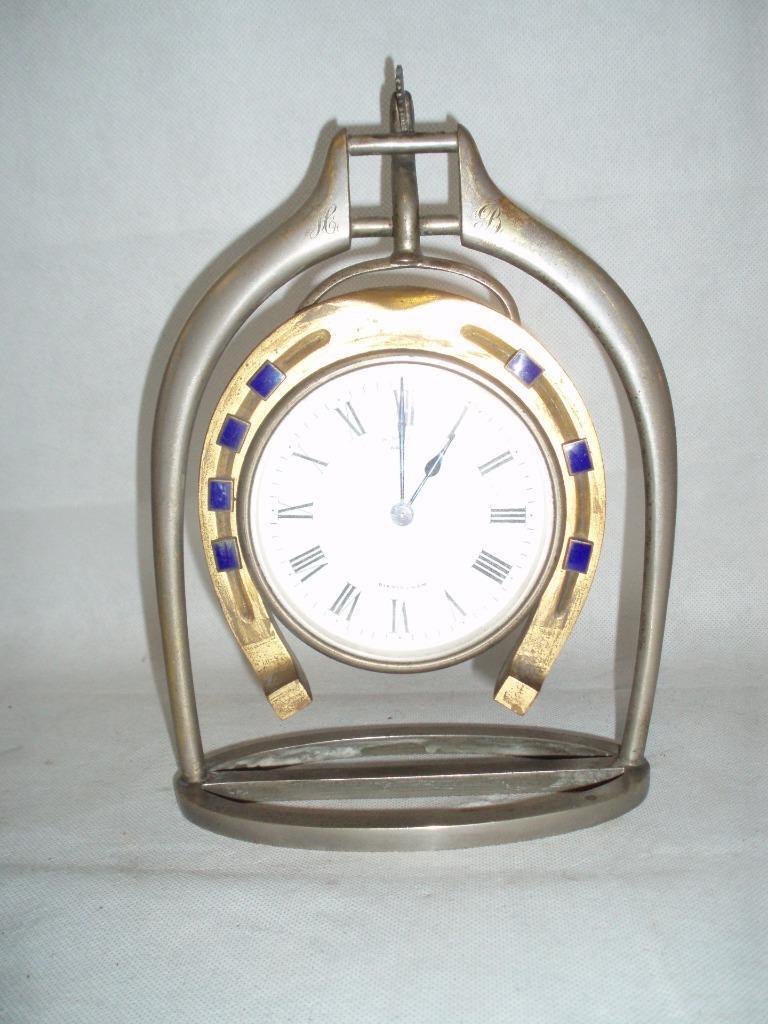 Reloj Antiguo Trofeo Estribo. por H. tumbas Nuevo St Birmingham.