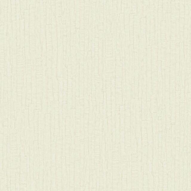 Cream 35270 - Ornella Bark Texture - Opus Italian Vinyl - Holden Decor Wallpaper
