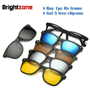 d353f6d2019 Image is loading Magnetic-Spectacle-Rx-Glasses-Frame-With-5-Pieces-