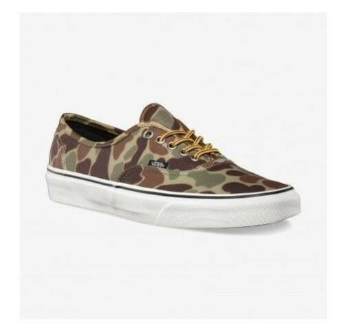 shoes Vans Authentic (Waxed Canvas) Camo Marsh 42 - 42,5 - 43 - 44,5 shoes New