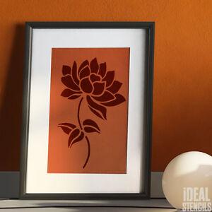 Fiore Di Loto Stampo Floreali Sui Muri Casa Dã Cor Arte Hobby