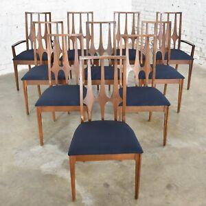 Broyhill Brasilia Dining Chairs Original Set Of 10 Mid Century Modern 1962 1970 Ebay