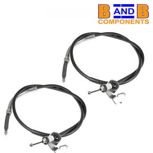 BMW-Mini-R50-R52-R53-One-Cooper-S-Frein-a-main-cables-Paire-A1269