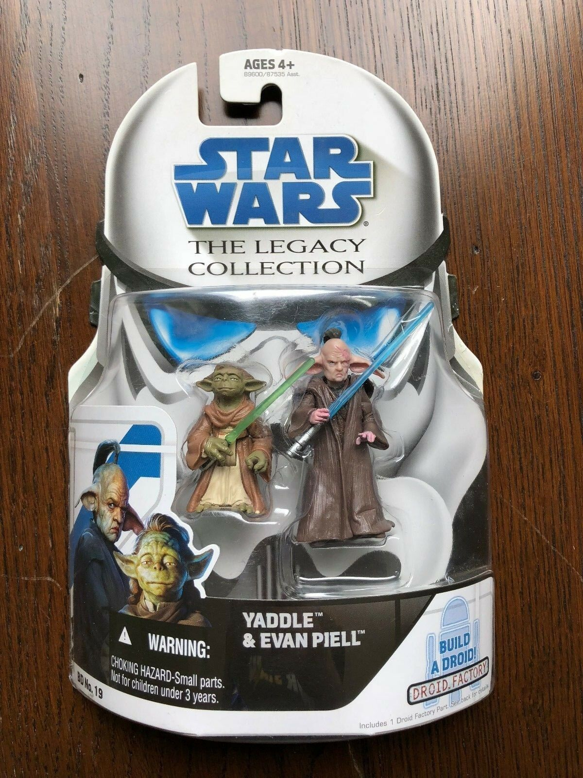 Star Wars Clone Wars Wars Wars Legacy Collection BD No. 19 - YADDLE & EVAN PIELL d8b289
