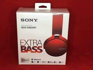 987562706c2 Image is loading Sony-MDR-XB650BT-EXTRA-BASS-Bluetooth-Wireless-Headphones-