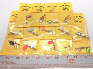 ROCK ISLAND SPORTS IN-LINE SPINNERS INDIANA # 1 BUY 10 FOR FREE SHIPPING!