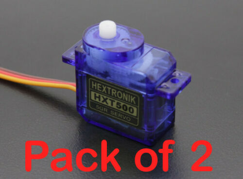 0.8kg HXT500 5g Fast Dispatch 0.1s Micro Servo x 2 UK seller