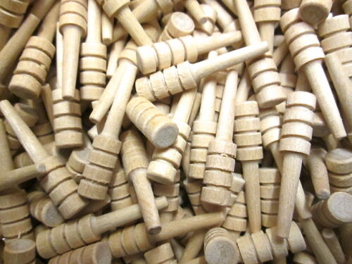 10 Unfinished wood cribbage pegs crib pegs game piece Seconds Multi Buy Discount