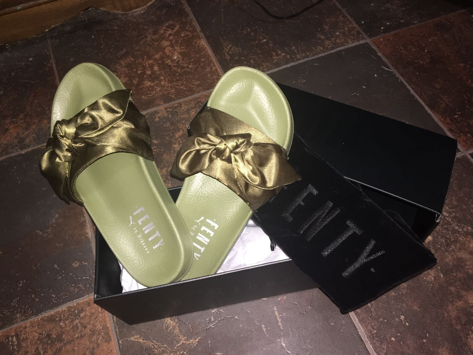 Womans Fenty Puma Slides size 8.5