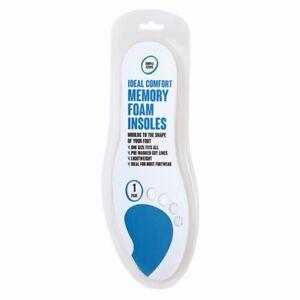 1-Pair-Memory-Foam-Unisex-Insole-Shoe-Trainer-Comfort-Orthopedic-Foot-Feet-Help