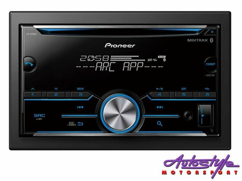 Pioneer FH-S505BT Double Din Audio Receiver with Bluetooth    Built-in MOSFET 50W x 4 Bluetooth USB