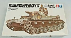 Panzer-Kampfwagen-IV-Model-Unassembled-Complete-Boxed-Tamiya
