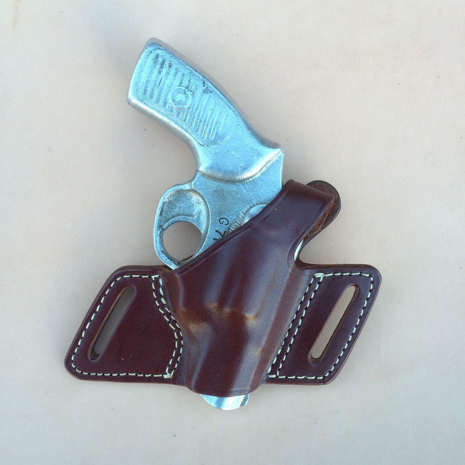 Ruger. SP 101 Kimber K6S w  hammer Leather Holster for all barrel lengths