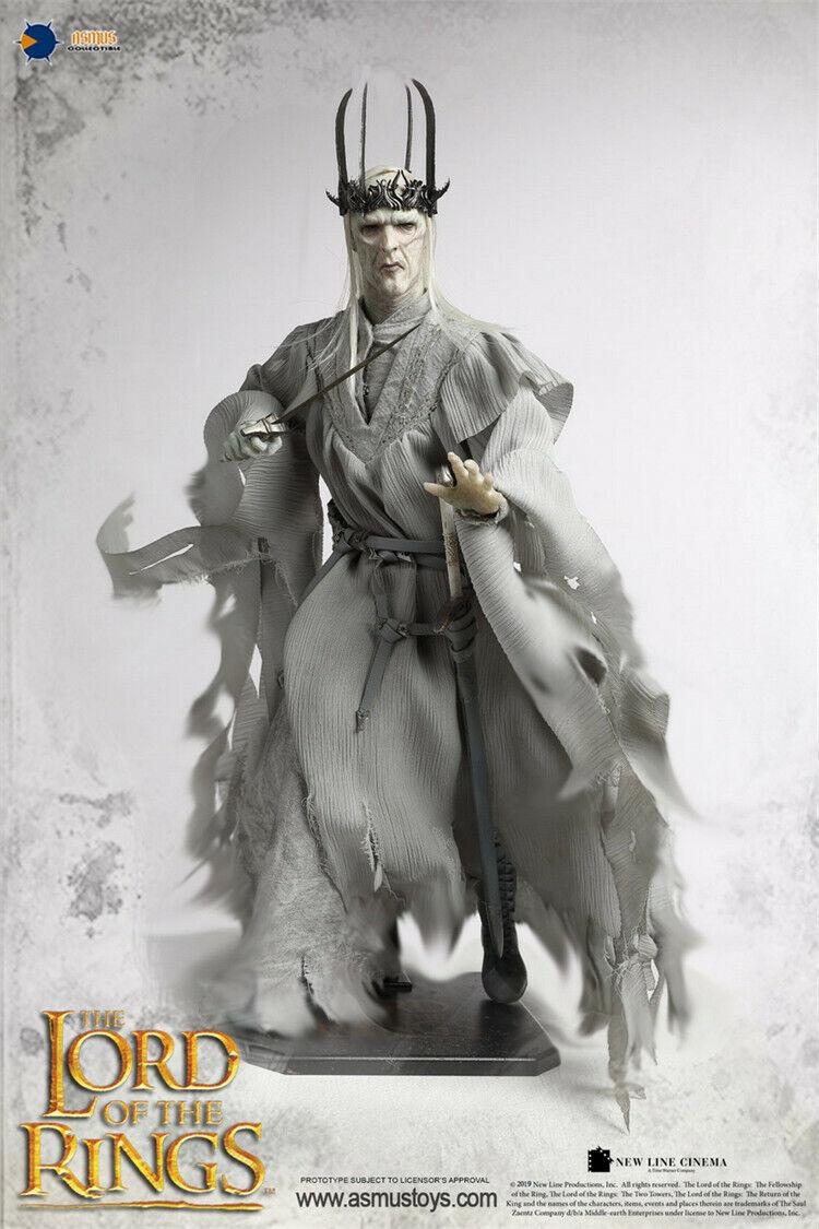 Asmus Juguetes 1 6 Señor De Los Anillos 023 el señor de los Anillos Anillo serie Twlight Juguete Figura Rey Brujo