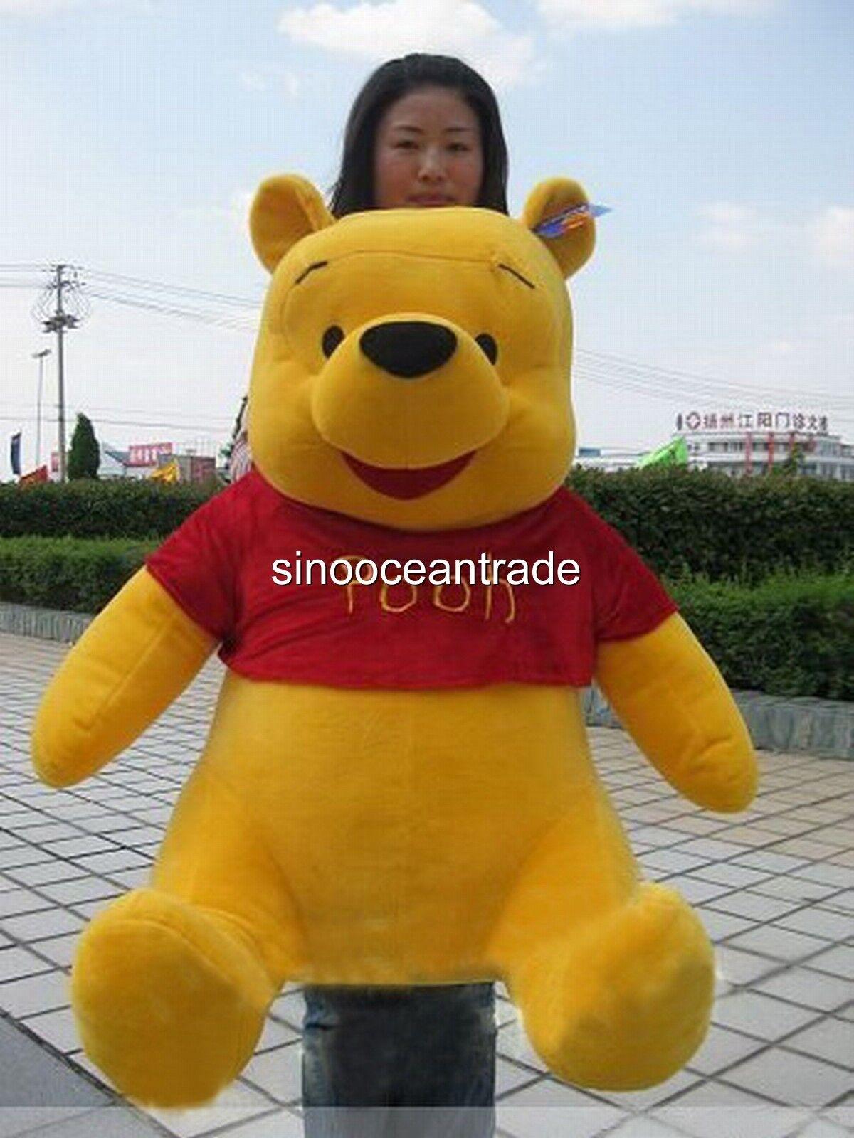2018 Hot Giant Large Huge Jumbo Winnie The Pooh Bear Soft Stuffed Plush Toy 40