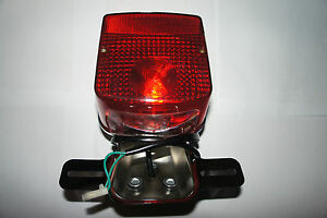 NEW-complete-taillight-rear-light-for-SUZUKI-GT185-B-1977