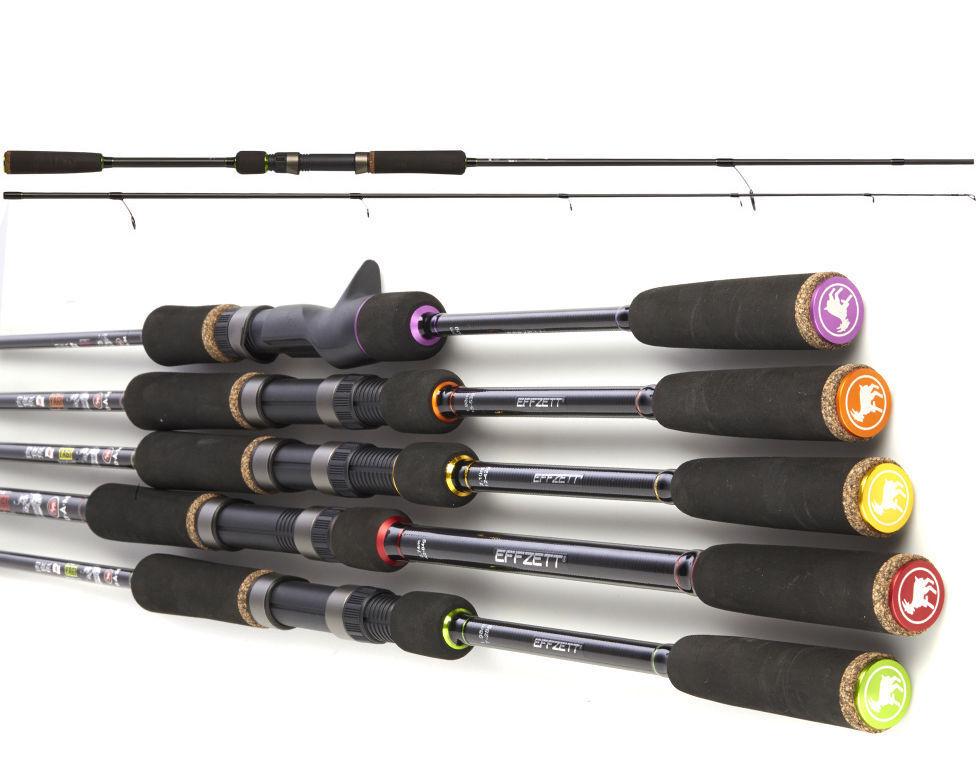 D .A.M. Effzett Yagi   spinning & Baitcast Fishing rods Complete Range