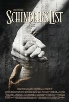 Schindler's List (1993) Original Movie Poster - Rolled