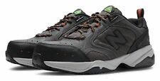 New Balance Men's Steel Toe 627 Textile Shoes Grey with Black