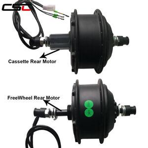 36V-250W-350W-500W-Brushless-Geared-Electric-Bike-Front-Rear-Hub-Ebike-Motor