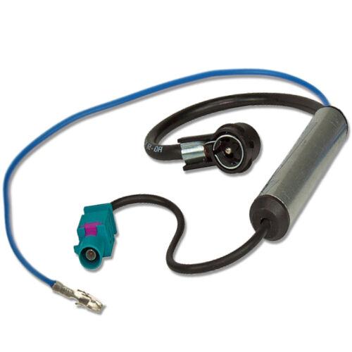 M BA 10310 Antennenadapter Phantomeinspeisung für Opel Fakra /> ISO 50 OHM