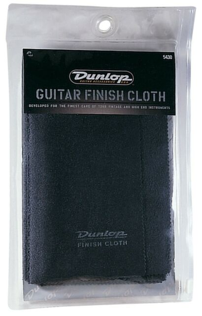 JIM DUNLOP Guitar Finish Cloth Cleaner *NEW* Japanese Micro Fibre