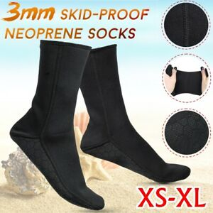 XS-XL 3mm Rutschfest Tauchen Socken Neoprenanzug Sport Neopren Schwimmen  II