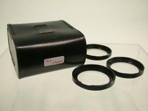 CARL ZEISS ICAREX Nahlinse Close-up Objectivement Filtre Lens baïonnette b-50 1401/9