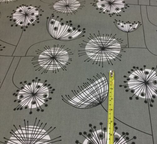 Ashley Wilde Dandelion Floral Cotton Print Fabric.Upholstery//Curtains//Crafts