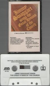 Details about Jimmy Swaggart Sings The Great Hymns Of The Church -  Cassette,1980, Jim Records