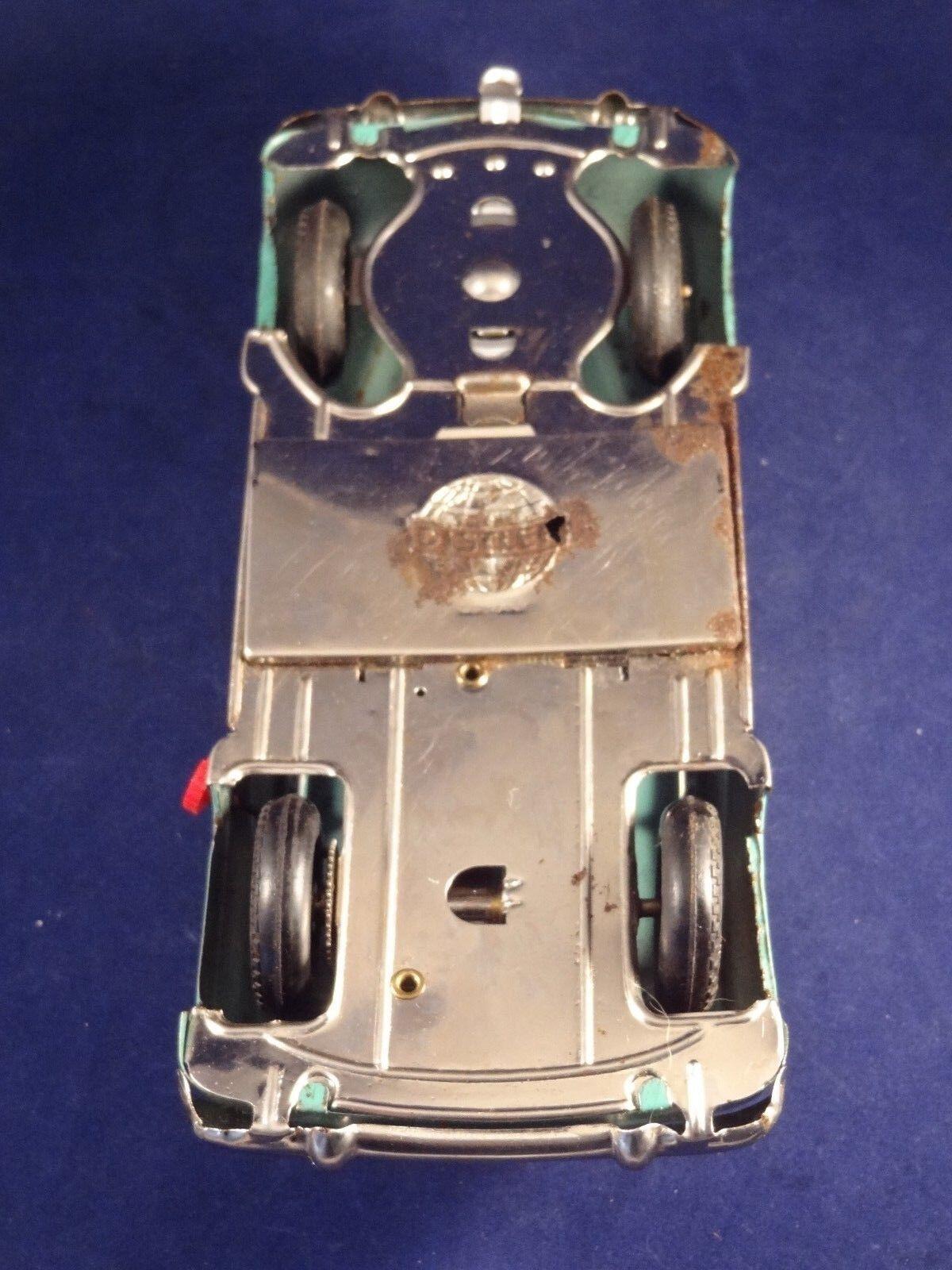 Ancien jouet voiture tôle mécanique electro-car electro-car electro-car Distler 7000 W. GerFemmey 1950 | De Qualité Supérieure  13b535
