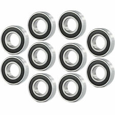 10 Pcs Premium 6800 2rs Abec3 Rubber Sealed Deep Groove Ball Bearing 10x19x5mm