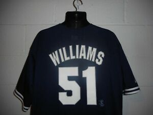 Vintage Majestic Bernie Williams #51 New York Yankees Jersey XL