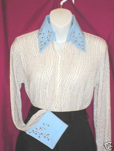 Plus Size Donna Ivy Western Glamor Show Shirt